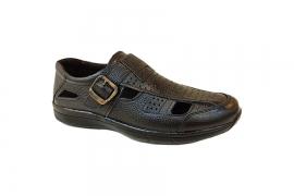 کفش تابستانی  طبی راحتی مردانه چرم طبیعی  تبریز کد439