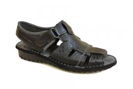 کفش تابستانی  طبی راحتی مردانه چرم طبیعی  تبریز کد449