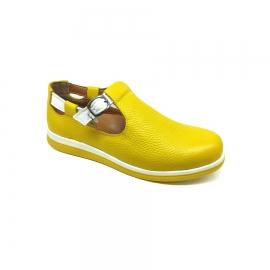 کفش راحتی زنانه چرم طبیعی دست دوز تبریز کد461