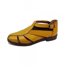 کفش تابستانی زنانه چرم طبیعی  تبریز کد 517