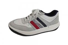کفش کتونی مردانه چرم طبیعی  تبریز کد5251