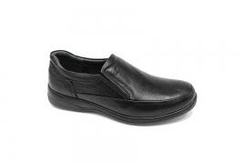 کفش  طبی راحتی مردانه چرم طبیعی تبریز کد 574