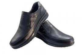 کفش طبی راحتی مردانه بزرگ پا چرم طبیعی تبریز کد597
