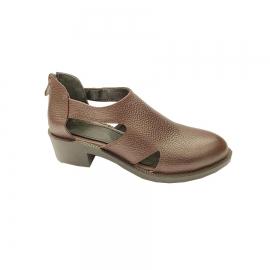 کفش تابستانی زنانه چرم طبیعی  تبریز کد615