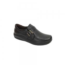کفش طبی راحتی مردانه چرم طبیعی تبریز کد 651