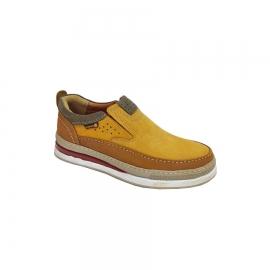 کفش اسپرت راحتی مردانه چرم طبیعی  تبریز کد 653