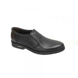 کفش مجلسی مردانه تمام چرم طبیعی گاوی تبریز کد655