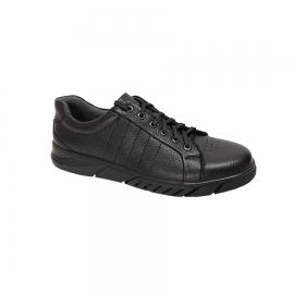 کفش  طبی راحتی مردانه چرم طبیعی تبریز کد 658