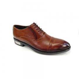 کفش مجلسی مردانه چرم طبیعی تبریز کد 664
