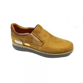 کفش اسپرت راحتی مردانه چرم طبیعی  تبریز کد 691
