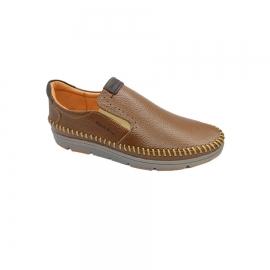 کفش اسپرت طبی راحتی مردانه چرم طبیعی تبریز کد 707