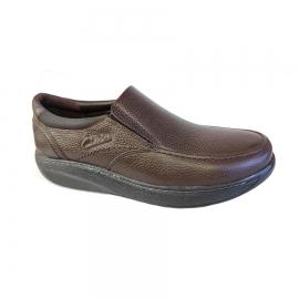 کفش طبی راحتی مردانه چرم طبیعی تبریز کد 715