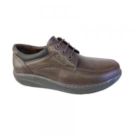 کفش طبی راحتی مردانه چرم طبیعی تبریز کد 716