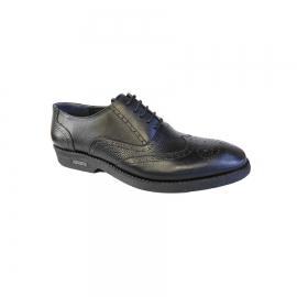کفش مجلسی مردانه چرم طبیعی تبریز کد 721