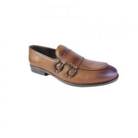 کفش کالج مردانه چرم طبیعی تبریز کد 725