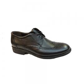 کفش مجلسی مردانه بزرگ پا چرم طبیعی تبریز کد 750