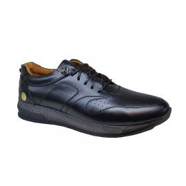 کفش اسپرت طبی راحتی مردانه چرم طبیعی تبریز کد 762