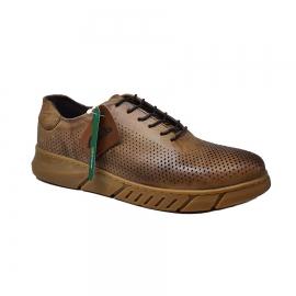 کفش اسپرت طبی راحتی مردانه چرم طبیعی تبریز کد 763