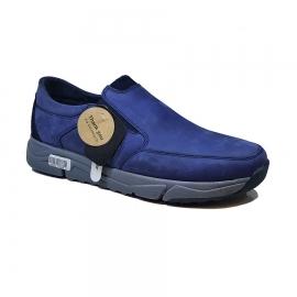 کفش اسپرت طبی راحتی مردانه چرم طبیعی تبریز کد 764