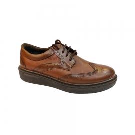 کفش مجلسی مردانه چرم طبیعی تبریز کد 772