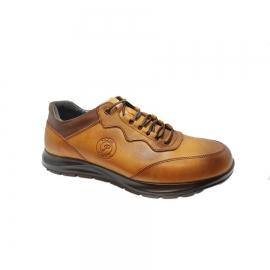 کفش اسپورت مردانه چرم طبیعی تبریز کد 832