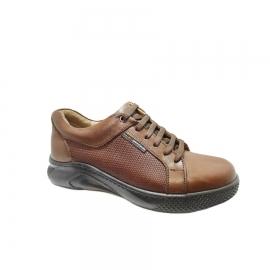 کفش اسپورت مردانه چرم طبیعی تبریز کد 833