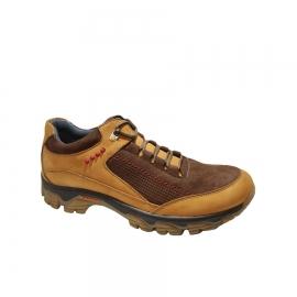 کفش اسپورت مردانه چرم طبیعی تبریز کد 834