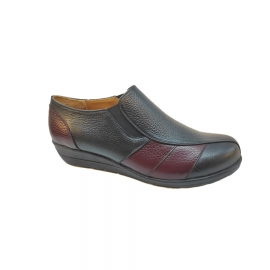کفش طبی راحتی زنانه چرم طبیعی  تبریز کد 841