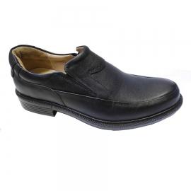 کفش طبی راحتی مردانه چرم طبیعی تبریز کد 845