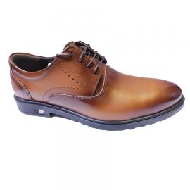 کفش مجلسی مردانه چرم طبیعی تبریز کد 856