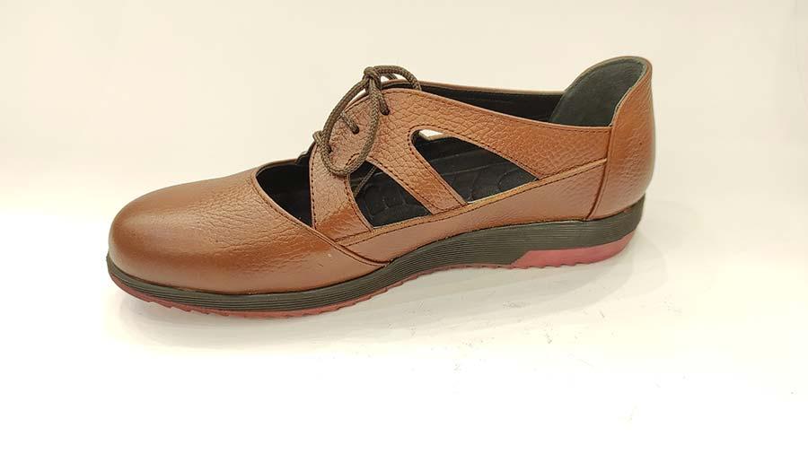 کفش تابستانی زنانه چرم طبیعی  تبریز کد616